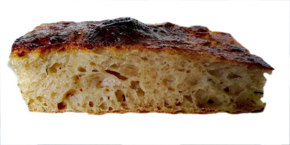 Pan focaccia masa madre 150 g