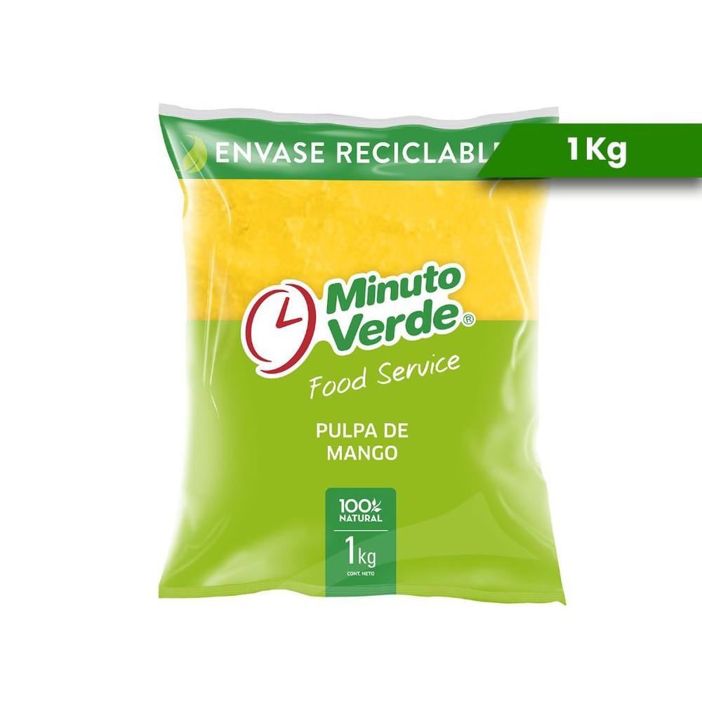 Pulpa de mango Bolsa de 1kg