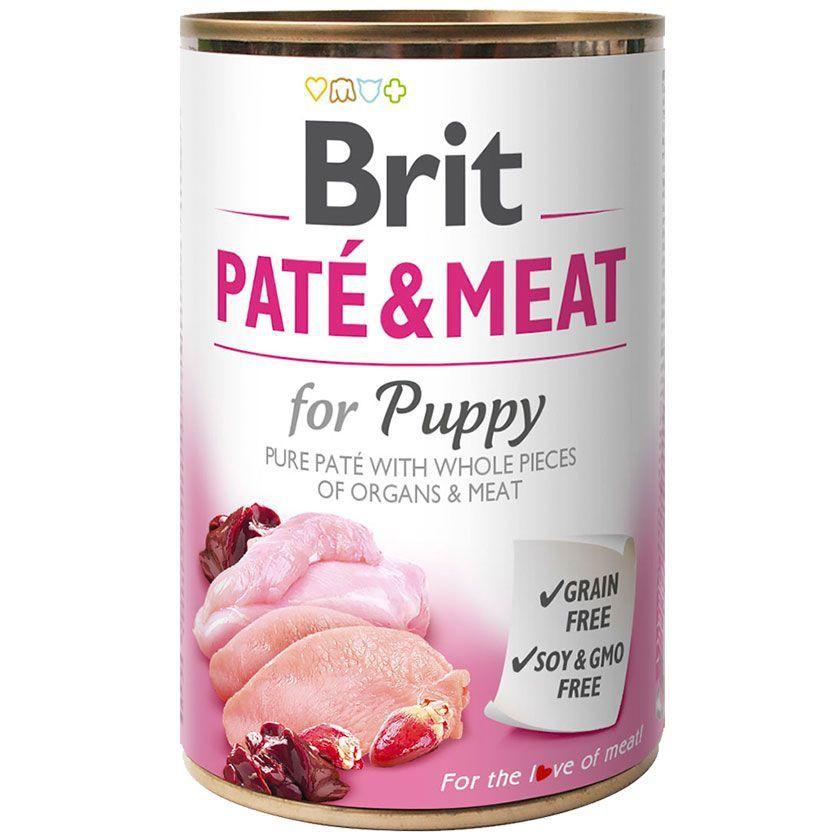 Brit pate & meat puppy