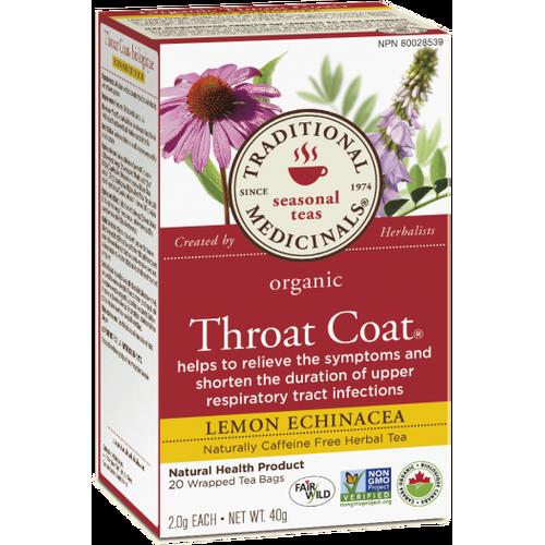 Throat coat lemon echinacea tea