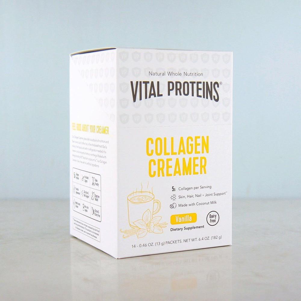 Vanilla collagen creamer travel pack