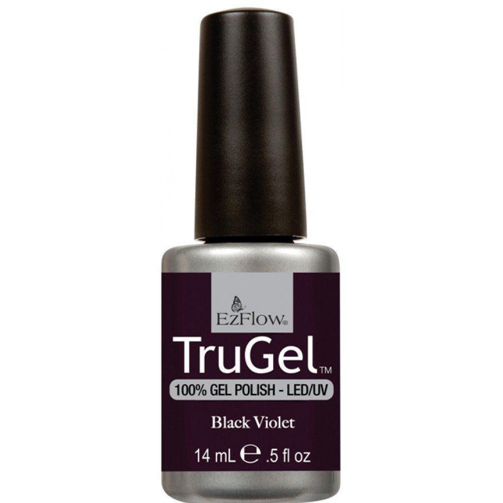 Esmalte color tru gel black violet