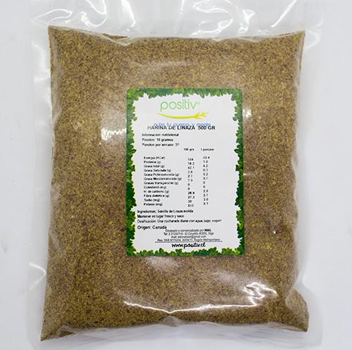 Harina de linaza molida 500 g