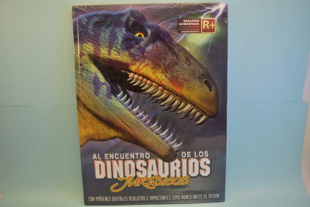 Al encuentro de los dinosaurios jurasicos 40 x 50 cm aprox