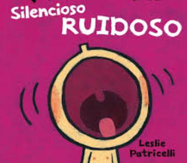 Libro silencioso ruidoso 25 x 25 cm aprox.