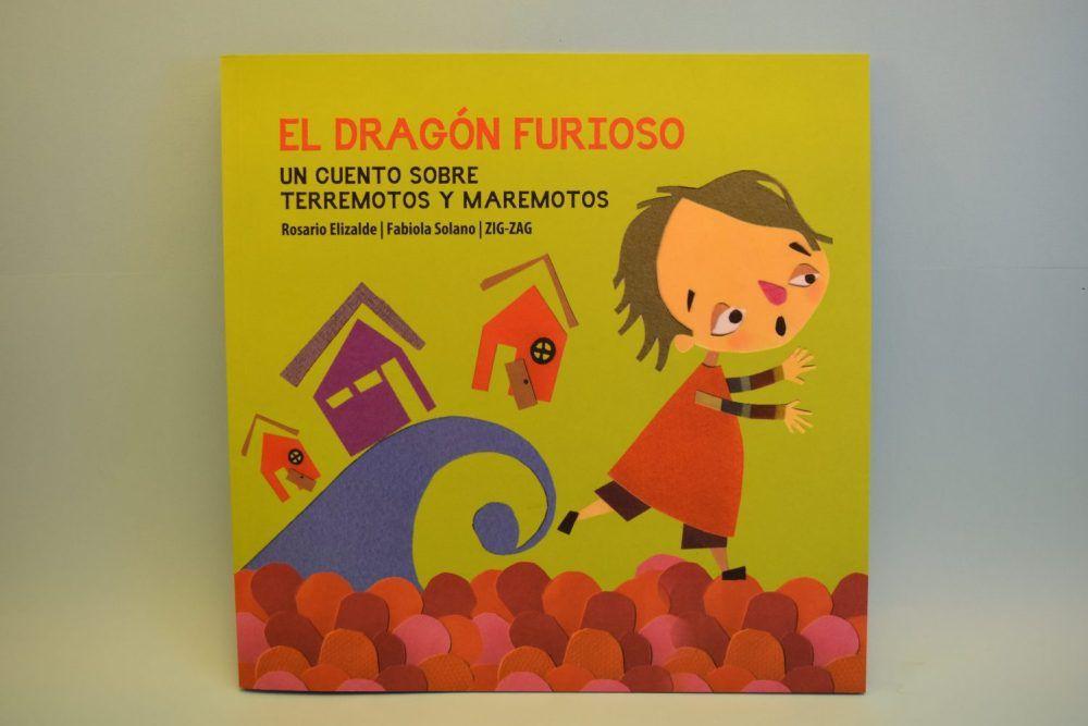 El dragón furioso, un cuento sobre maremotos y terremotos 25 x 25 cm aprox.
