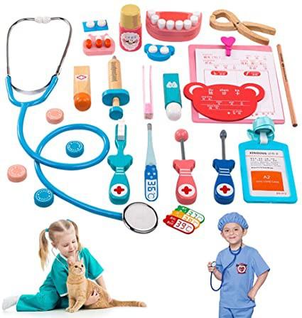 Set médico de madera Set 20 piezas