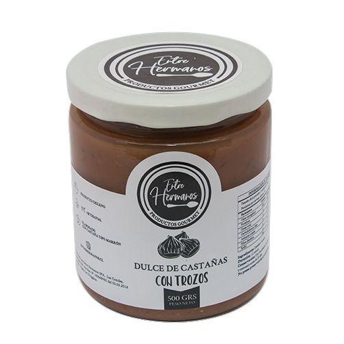 Dulce de castaña - con trozos
