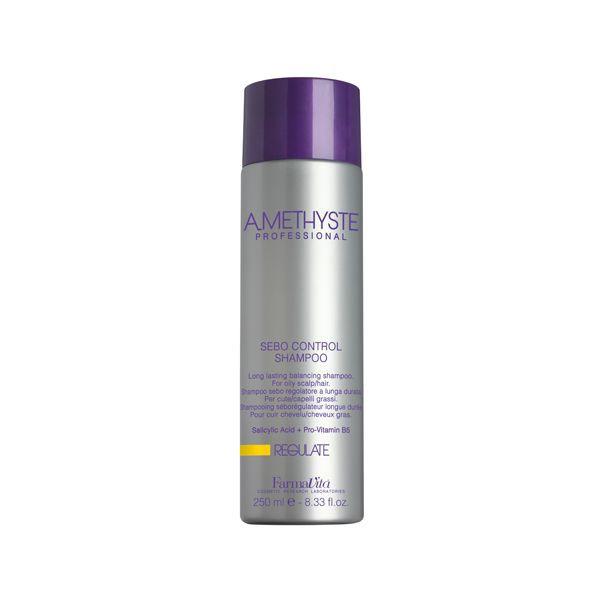 Shampoo control de sebo (grasa) de Amethyste