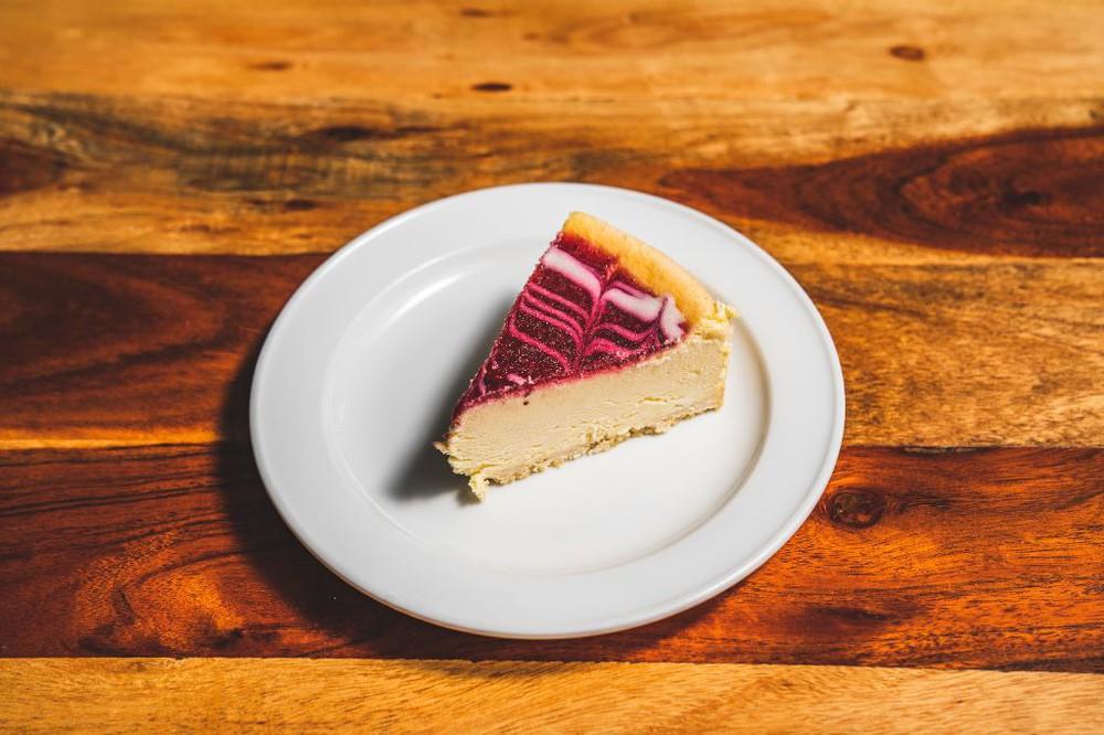 Cheesecake frambuesa Una porción (170 gr)