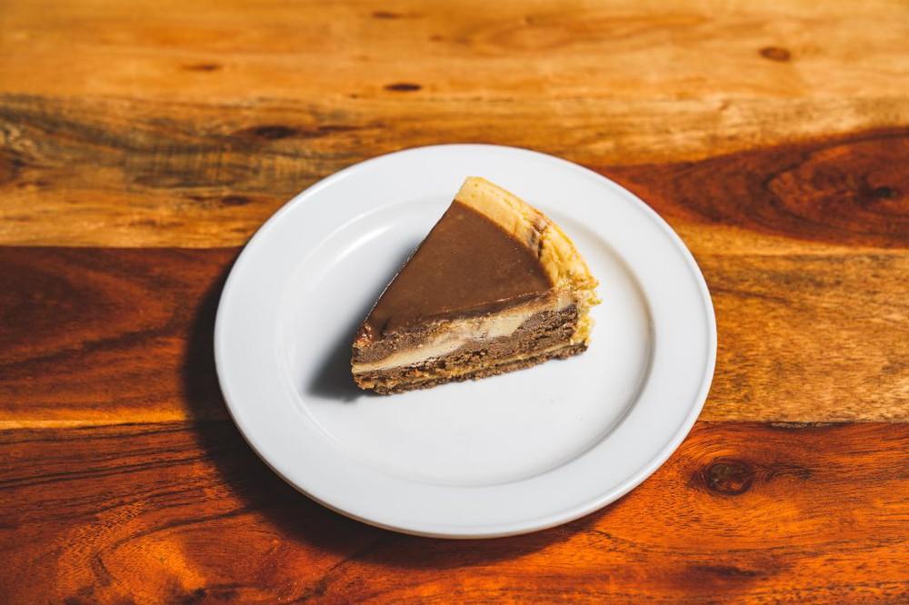 Cheesecake nutella Una porción (170 gr)