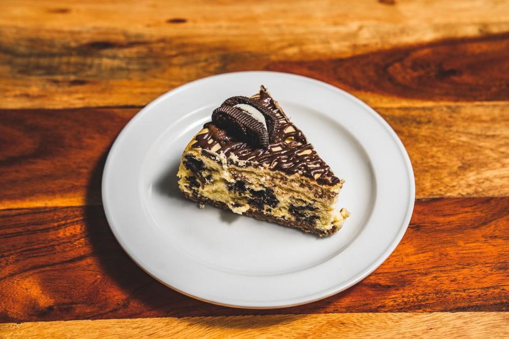 Cheesecake cookies and cream Una porción (170 gr)