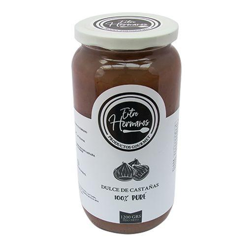 Dulce de castaña - puré