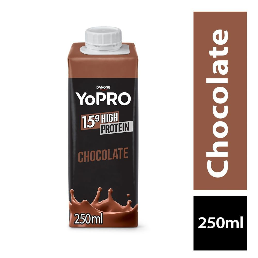 Bebida láctea sabor chocolate YoPRO 15g High Protein