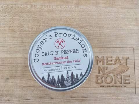 Salt & pepper finishing salt 6oz