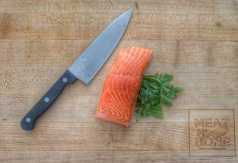 King Salmon Fillet 6 oz