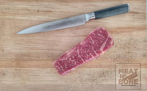 New york strip steak | wagyu-angus cross 13-15 Oz