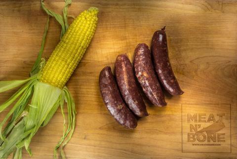 Argentinian morcillas (blood sausage) 15 - 17 Oz