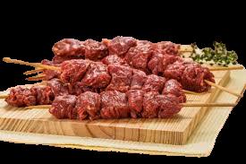 Espetinho carne