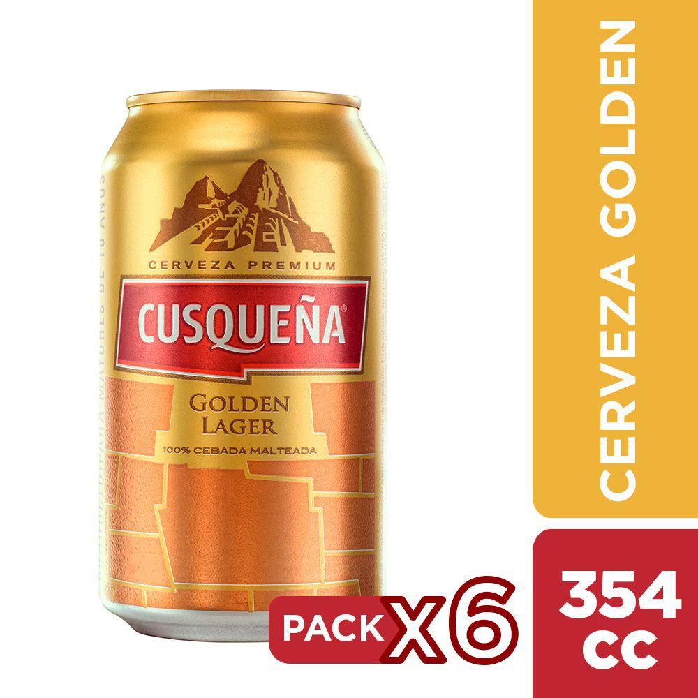 Cerveza premium golden lager