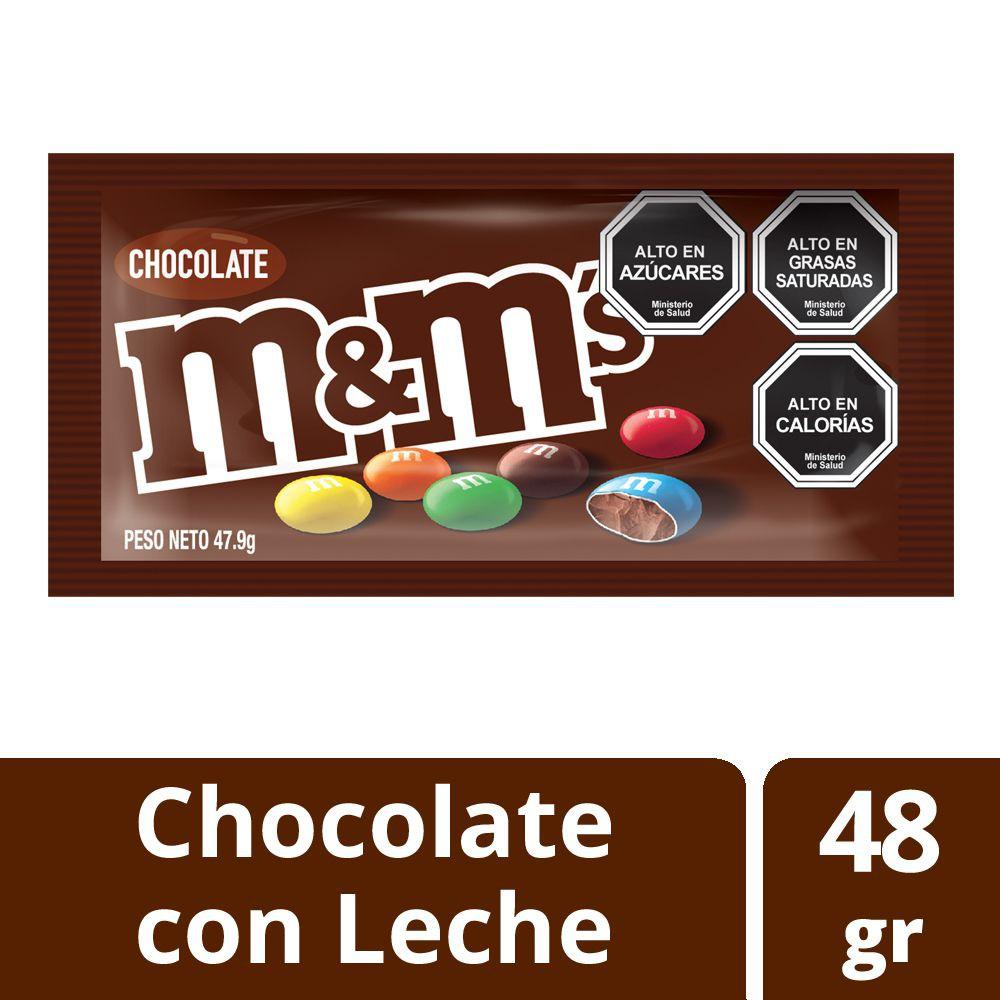 Dulces de chocolate con leche