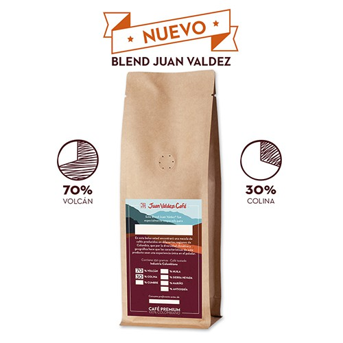 Café blend volcán 70% y colina 30%