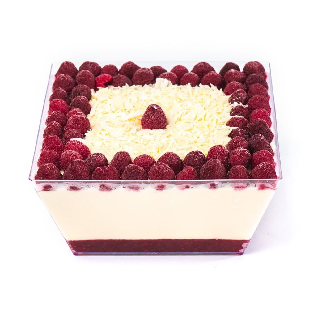 Chocolate blanco berries