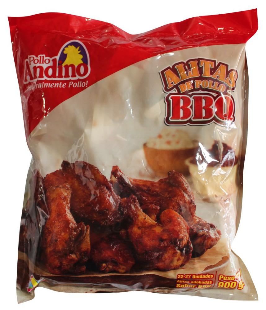Alitas de pollo bbq 900 g
