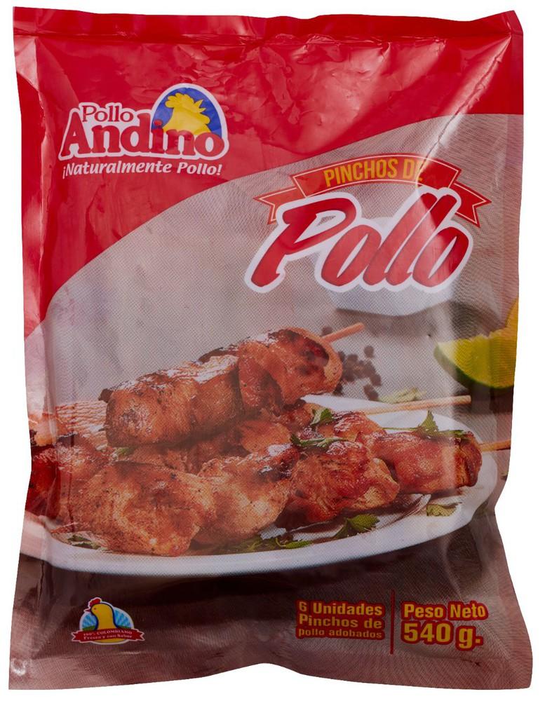 Pinchos de pollo Bolsa de 540 gr