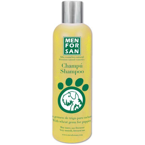 Champú shampoo germen de trigo para cachorros