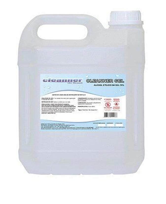 Álcool em gel 70% antisséptico CLEANNER