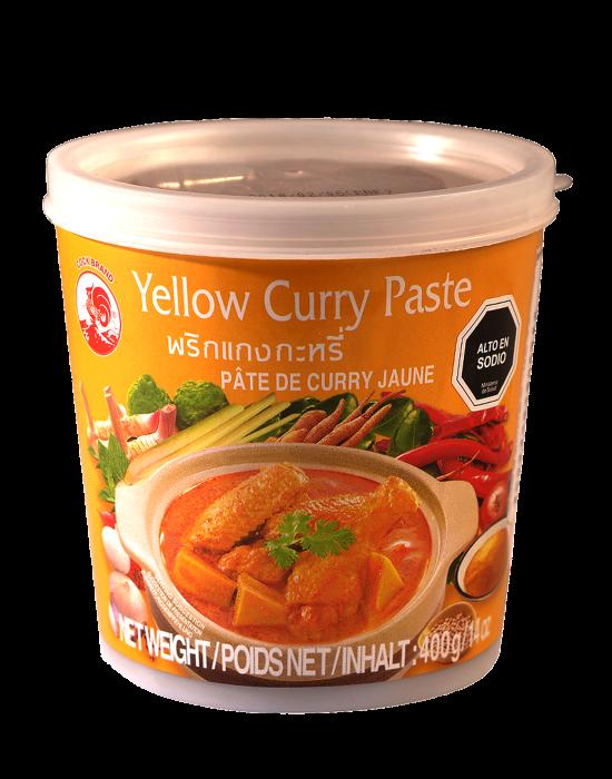 Pasta de curry amarillo