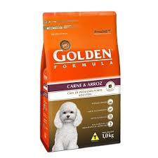 Ração golden mb ad carne e arroz 1kg