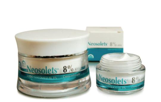 Neosolets crema exfoliante 15 ml