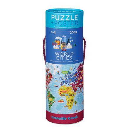 Puzzle cuidades del mundo 200 pcs