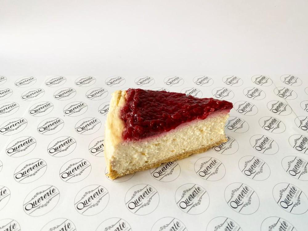 Cheesecake de frambuesa Porción individual