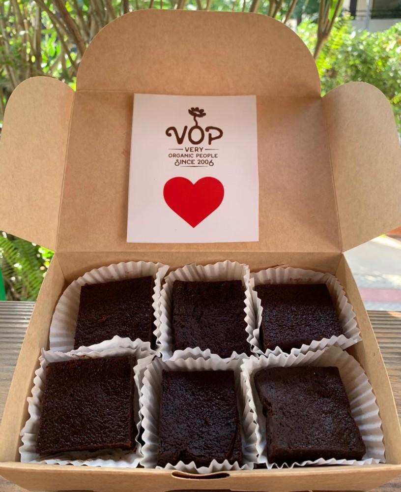 caja 12 uni Keto Brownie sin azucar - sin gluten - low carb caja 12 unidades