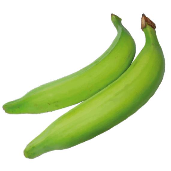 Plátano verde Unidad, 200 g aprox.