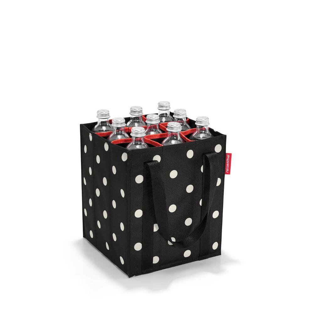Bolso botellero -mixed dots Medidas 24 x 28 x 24 cm.