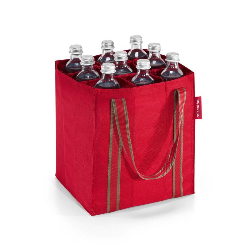 Bolso botellero - rojo