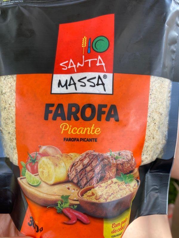 Farofa pronta picante