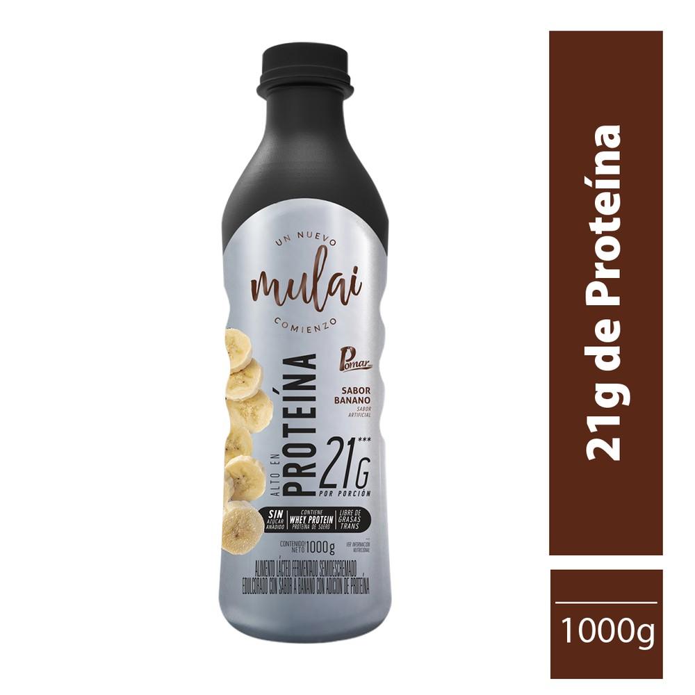 Alimento lácteo con extraproteina sabor banano 1000 gr