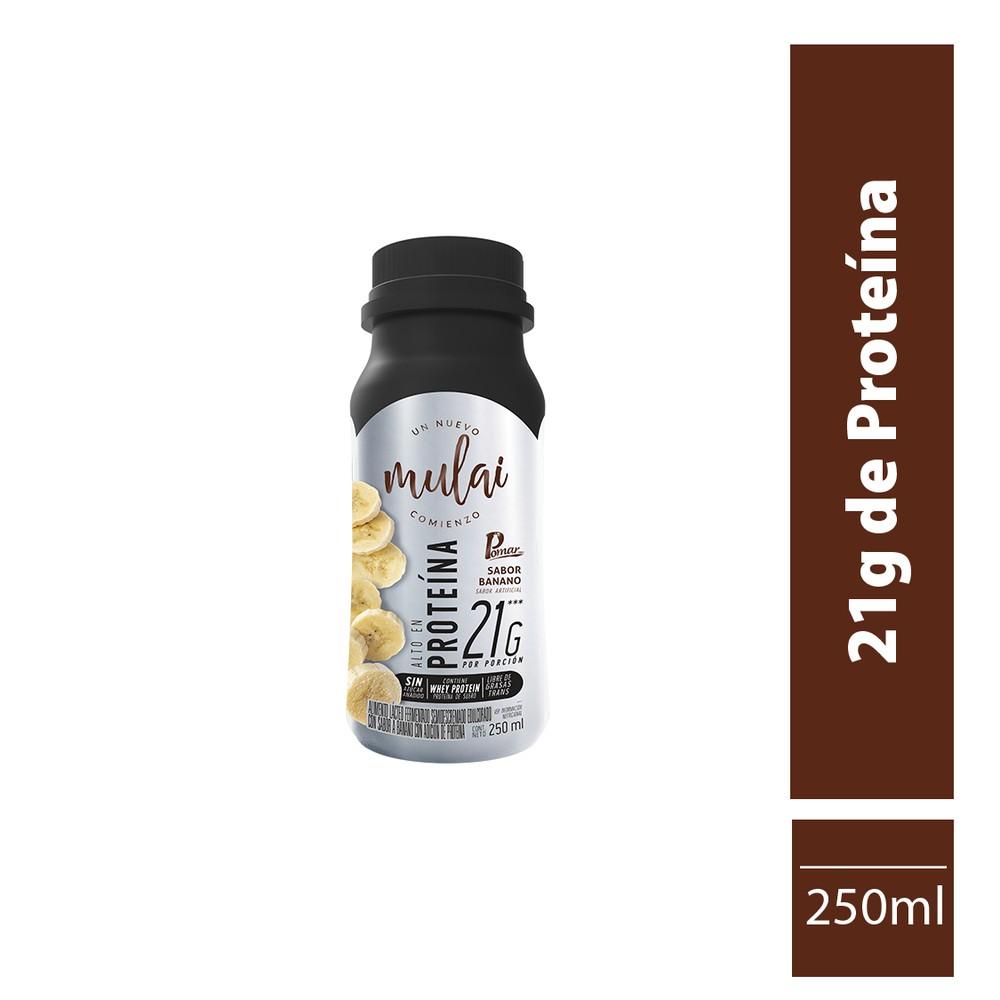 Alimento lácteo con extraproteina sabor banano 250 gr