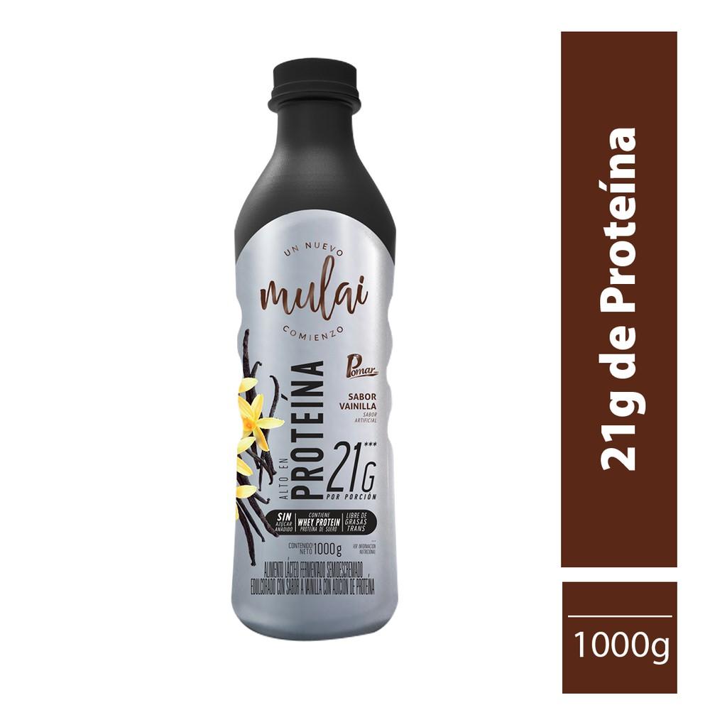 Alimento lácteo extraproteína sabor vainilla 1000 g