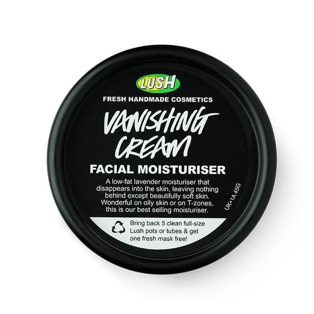 Vanishing cream crema facial