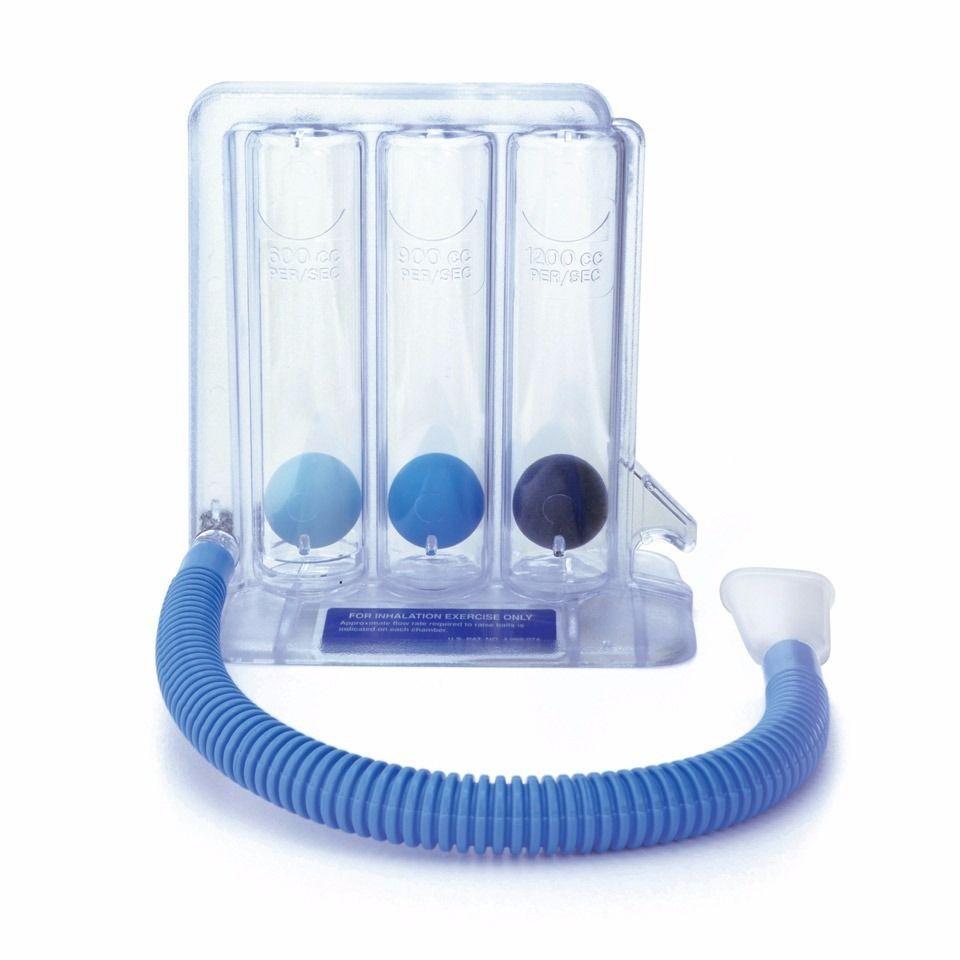 Triflo ejercitador pulmonar