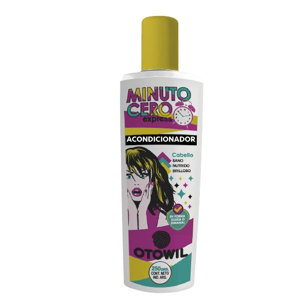 Minuto cero shampoo frasco