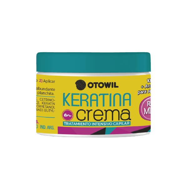 Keratina en crema tratamiento frasco