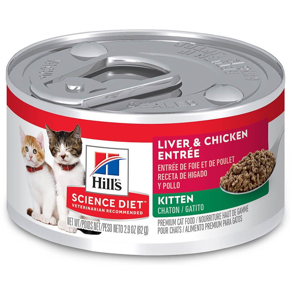 Kitten liver & chicken
