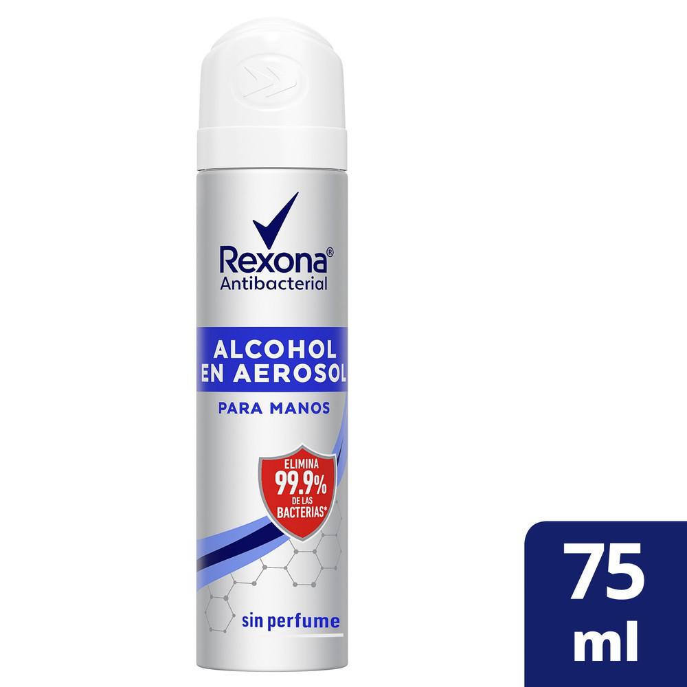 Alcohol aerosol antibacterial